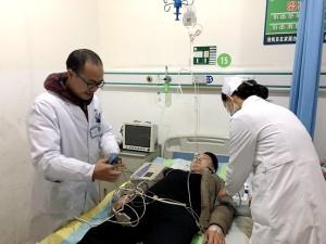 內二科舉行胸痛救治演練