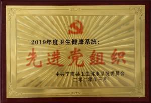 2019年度卫生健康系统 先进党组织