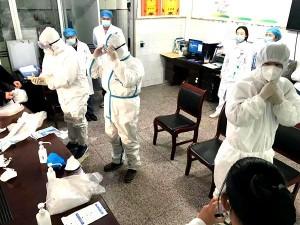寧南縣人民醫院舉行新冠肺炎醫療救治團隊穿脫個人防護用品操作培訓考核