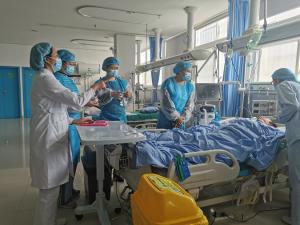 強督導  促提升 —涼山州護理質控中心對寧南縣人民醫院進行質控督導檢查